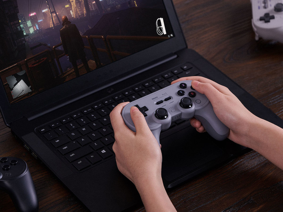 8BitDo Pro 2 Bluetooth gaming controller gives you more ways to play & has 2 back buttons