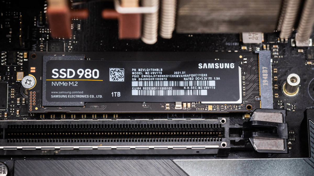 Samsung's new 980 NVMe SSD costs only $49.99 for 250 GB