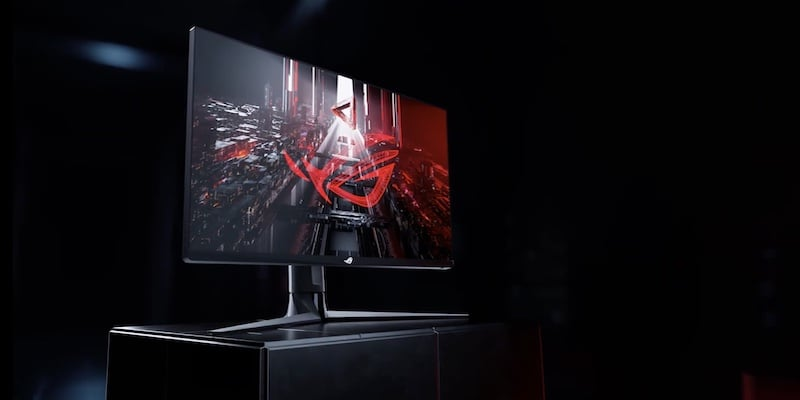 Which 4K monitor should you buy for your home officeASUS ROG Swift 32-inch 4K gaming monitor