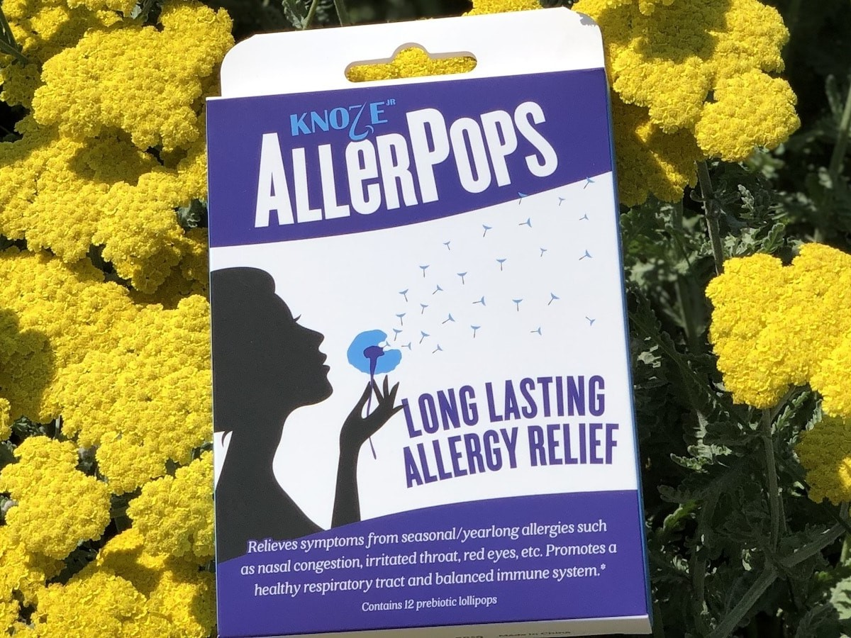 AllerPops allergy-relief lollipops are here to liberate you from your allergies