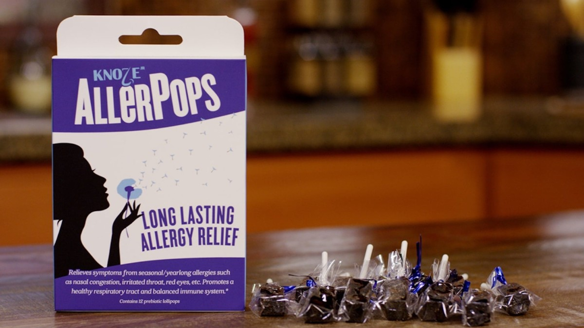 These allergy-relief suckers help you feel better without chemicals