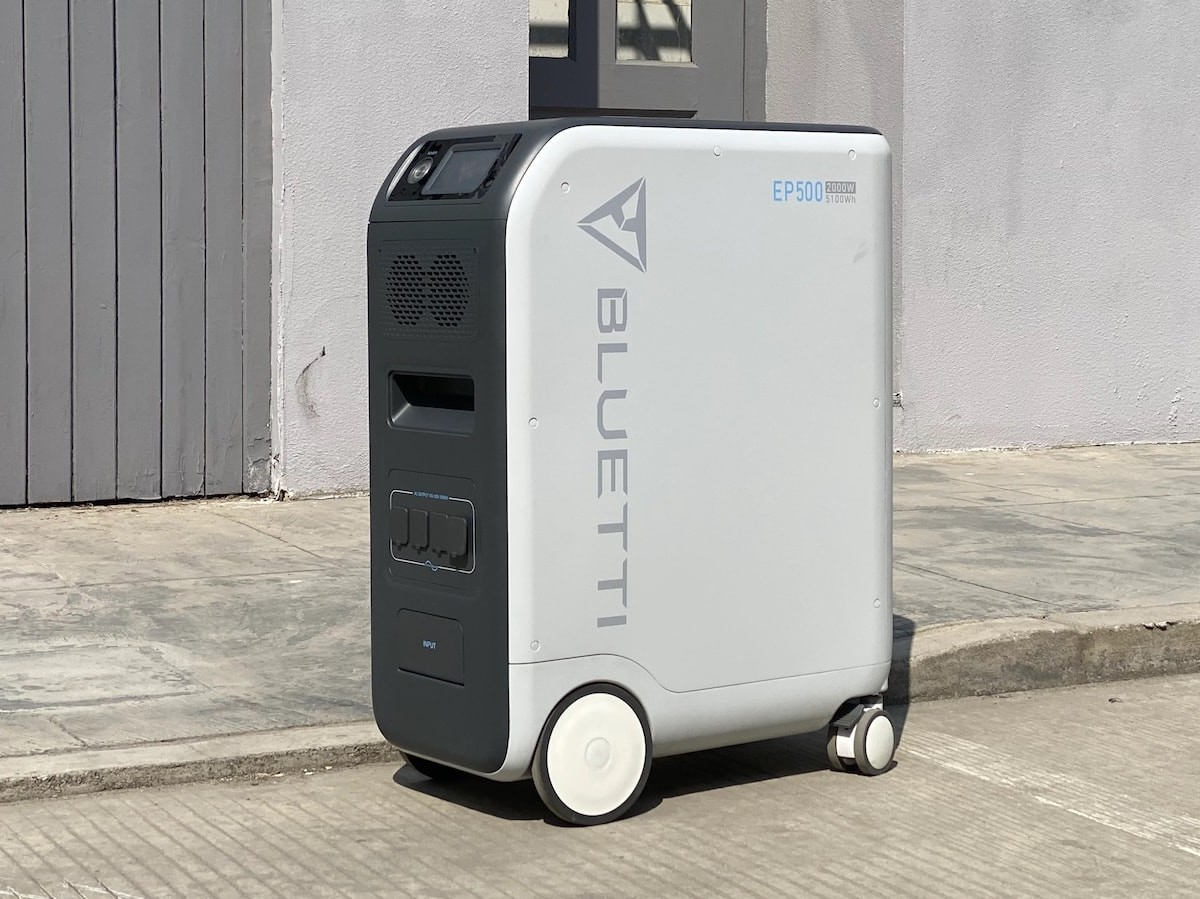BLUETTI EP500 backup power station has an ultralong lifespan of up to 6,000 charge cycles