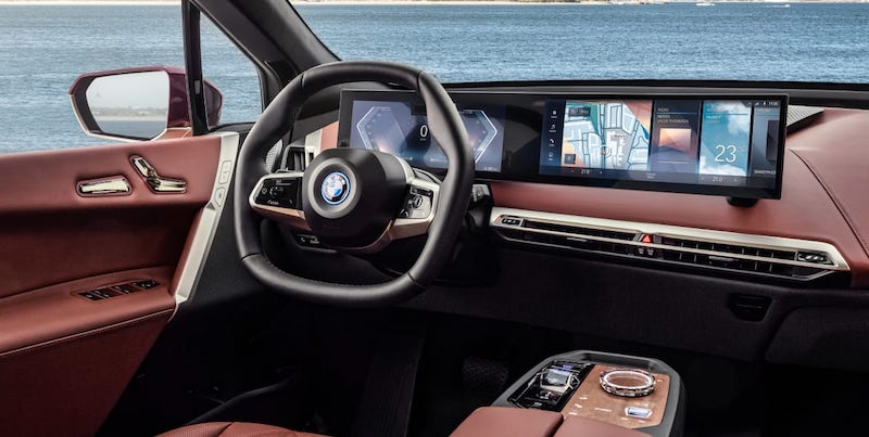 Introducing BMW's iDrive display—a step towards autonomous driving