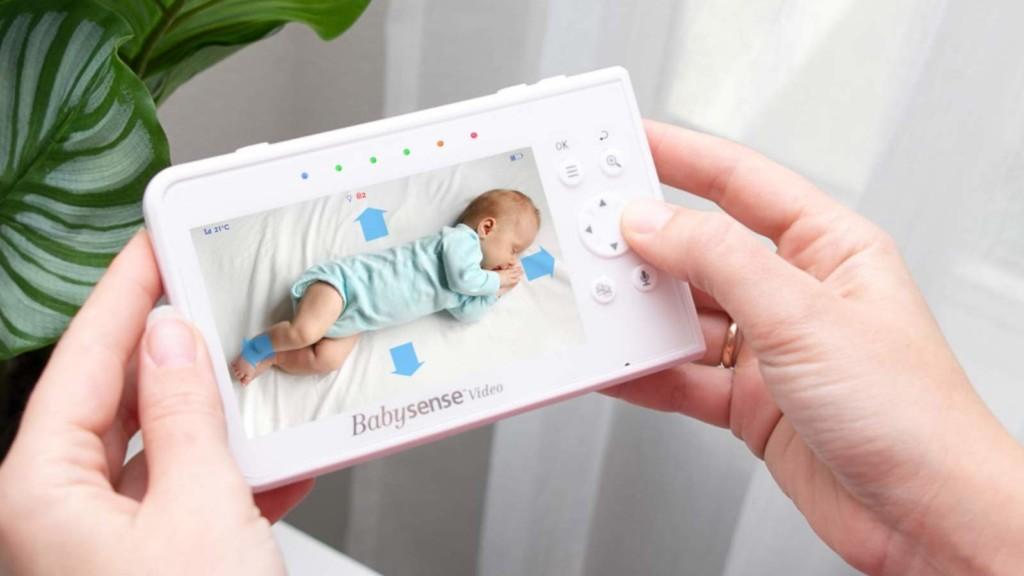 Babysense V43 Split Screen Video Baby Monitor