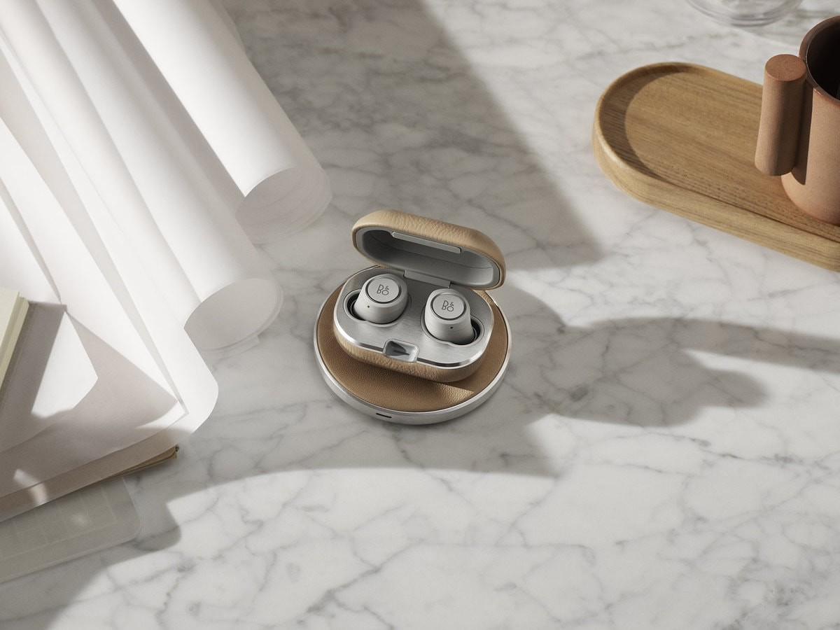 Bang & Olufsen Beoplay Charging Pad wireless charger uses luxury materials
