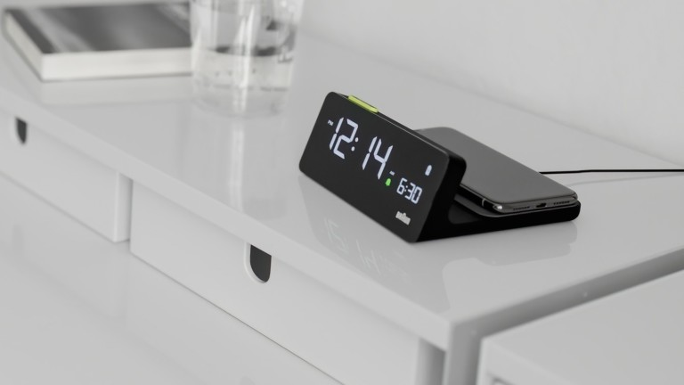 Braun BC21 Wireless Charging Alarm Clock boosts the battery of Qi-enabled devices