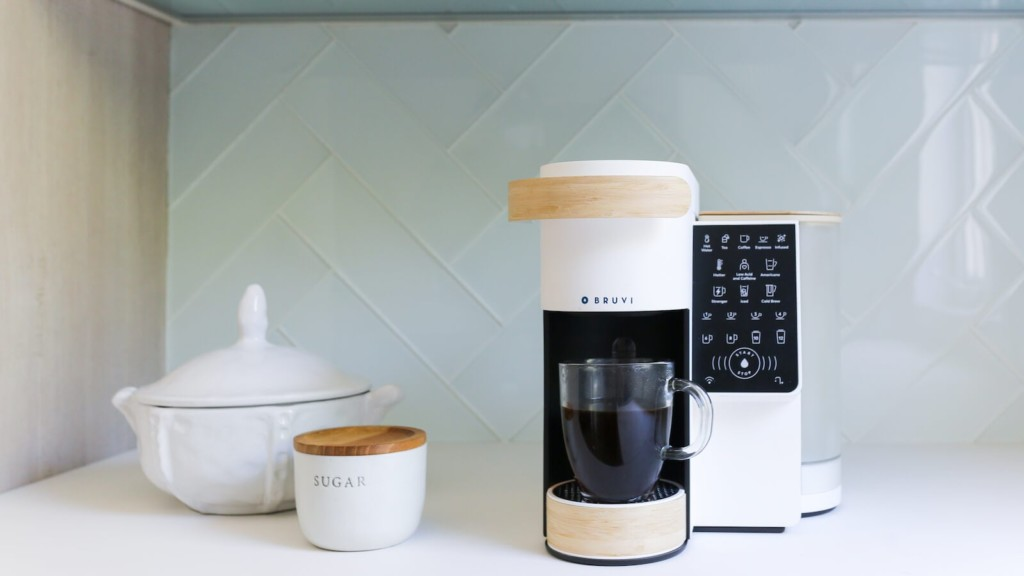 Bruvi single-serve coffee maker