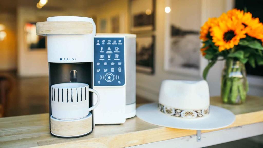 Bruvi single-serve coffee maker
