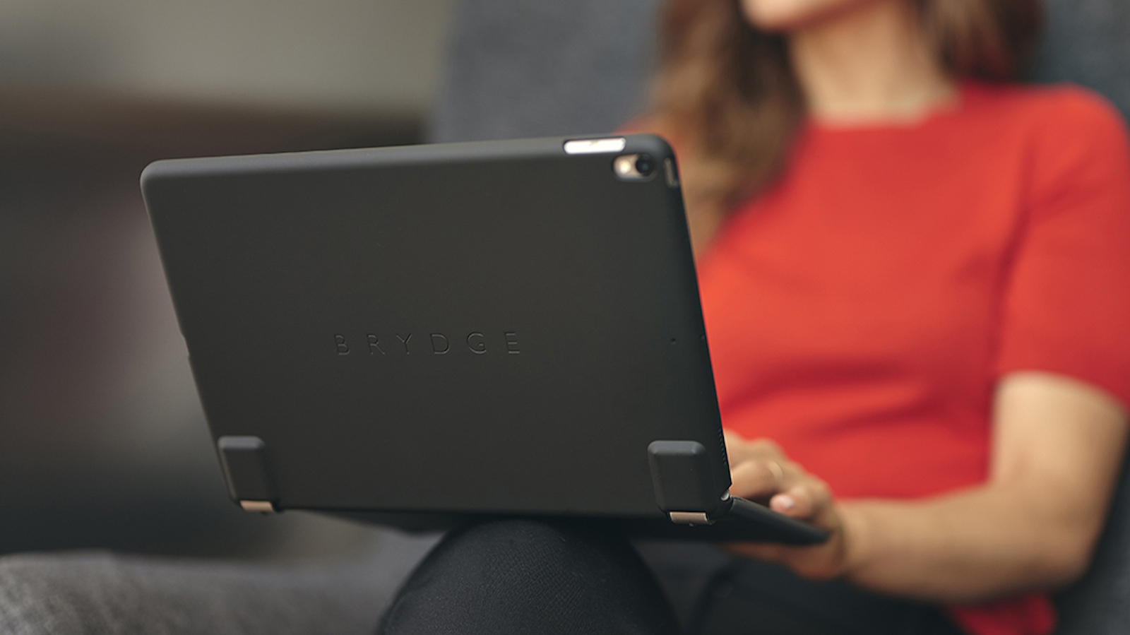 Brydge Protective Cases for iPad Pro protects your device and boasts a slimline profile