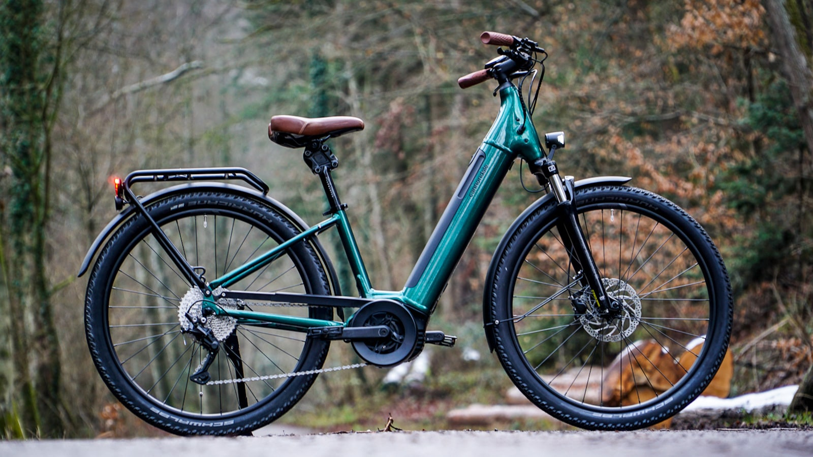 Cannondale Adventure Neo eBike collection keeps the effort of riding low and comforts high