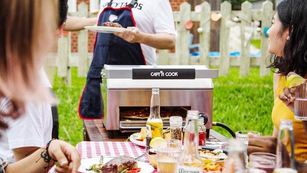 Time-saving gadgets for the kitchen Capt'n Cook OvenPlus Salamander All-in-One Grill