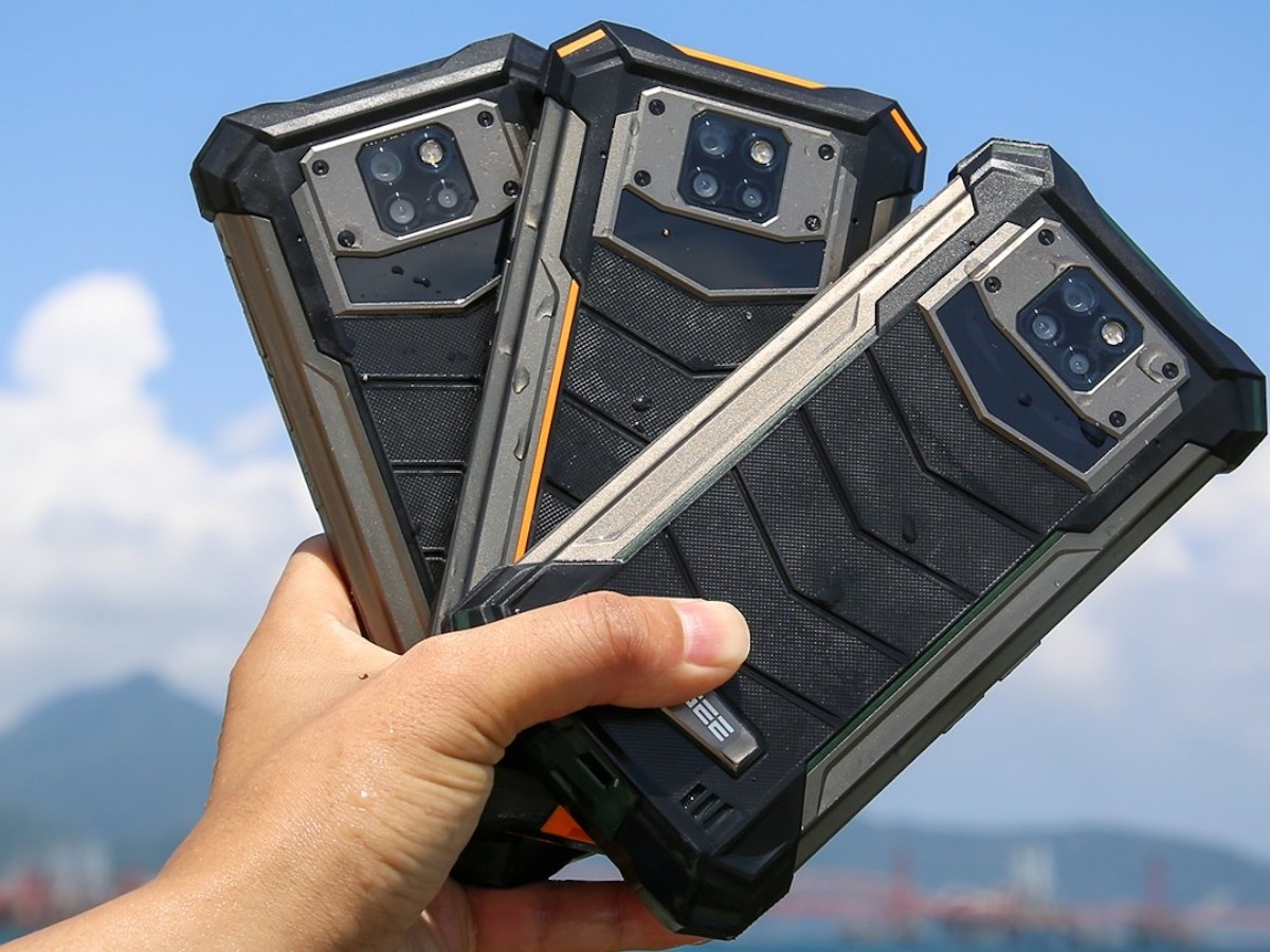 DOOGEE S88 Plus rugged smartphone offers MIL-STD-810G protection against drops and knocks