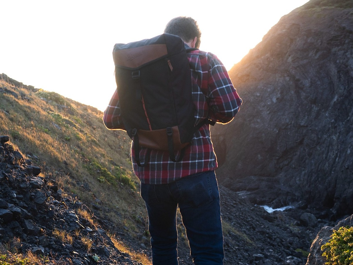 Danner 26L Daypack outdoor bag has three storage compartments