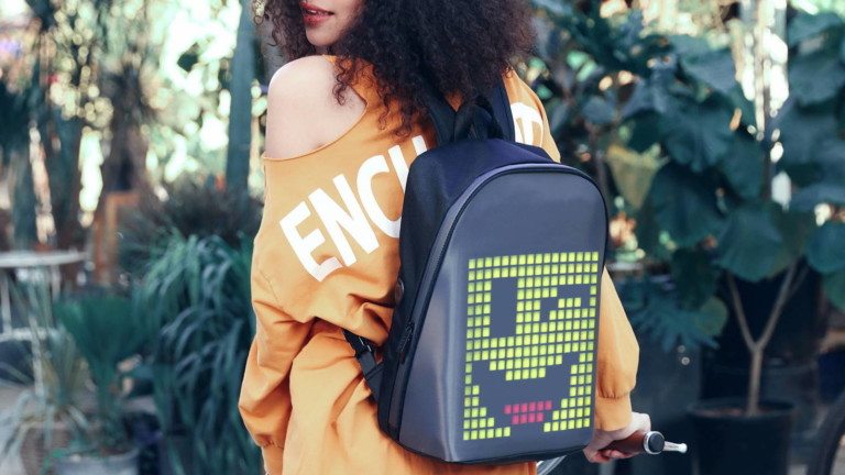"Divoom Pixoo LED <em class=""algolia-search-highlight"">Backpack</em> lets you create pixel art and show it off"