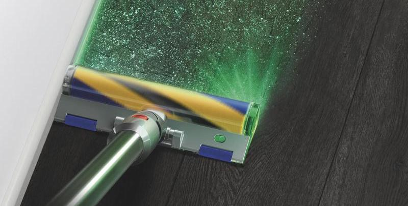 The new Dyson flagship V15 Detect has a Laser Dust Detection system
