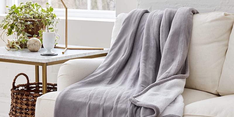 Eddie Bauer Smart Heated Electric Throw Blanket