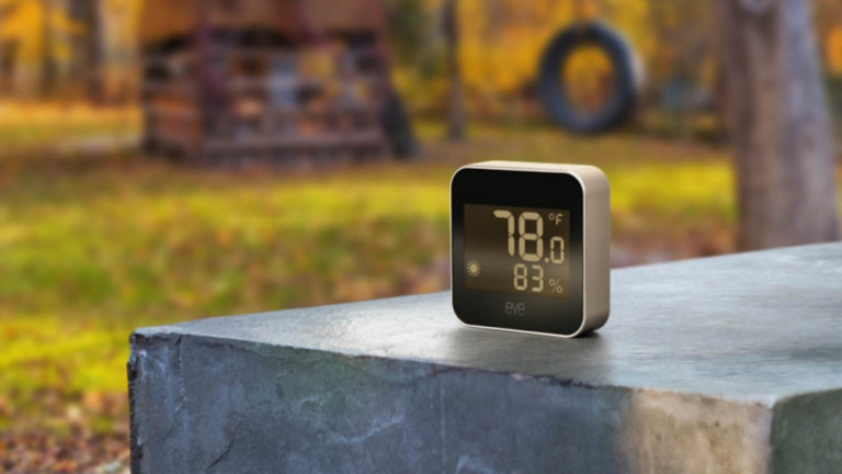 Eve Weather climate monitoring device tracks the weather & supports Thread technology