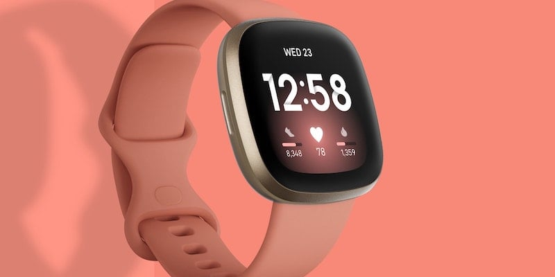 Fitbit Versa 3 smartwatch and GPS tracker