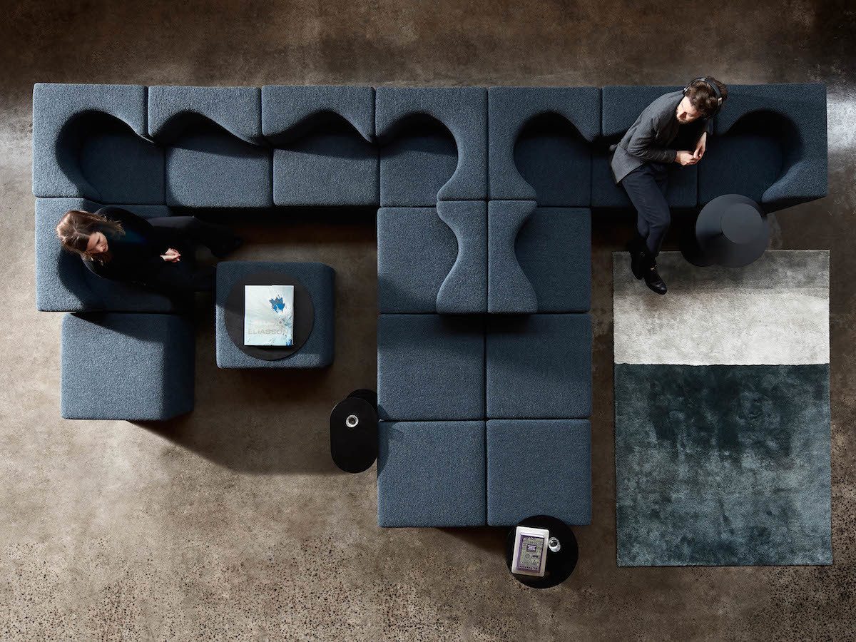 Foolscap Studio Soufflé modular lounge seat adapts to your setting and needs thumbnail