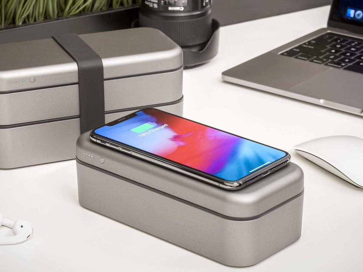 Function101 BentoStack Charge 8000 holds your Apple accessories to take on the go