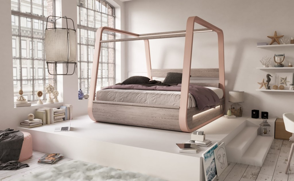 HiBed Canopy Smart Bed