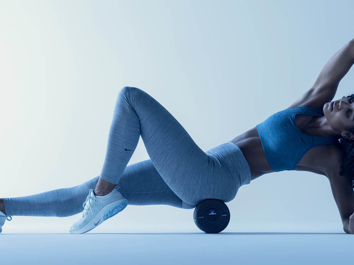 Hyperice Vyper 2.0 vibrating foam roller soothes aches and aids muscle recovery