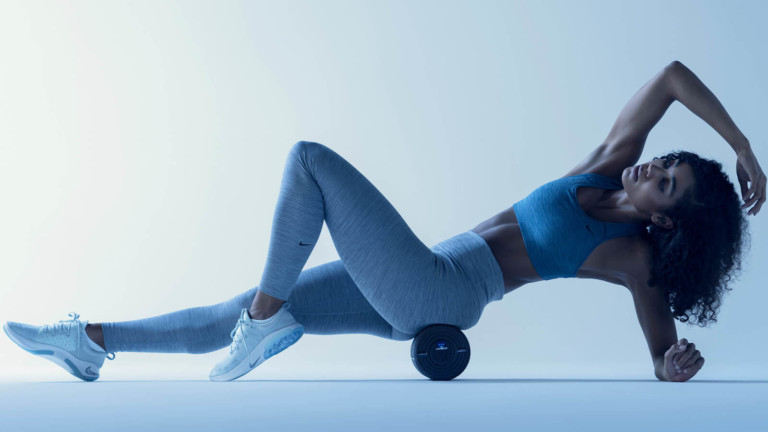 Hyperice Vyper 2.0 vibrating foam roller soothes sore aches and aids muscle recovery