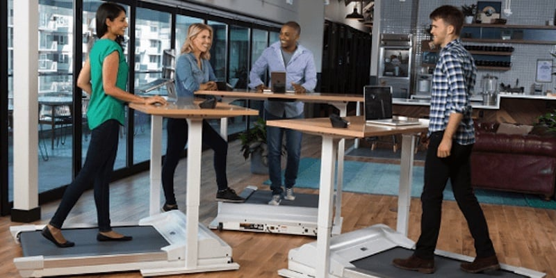 InMovement Unsit Desk Treadmill