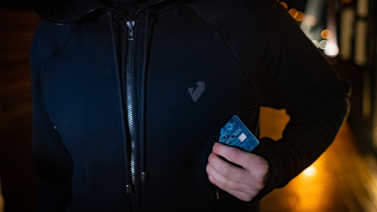 JAY23 smart heated hoodie has 16 power pockets, heated pockets, and more