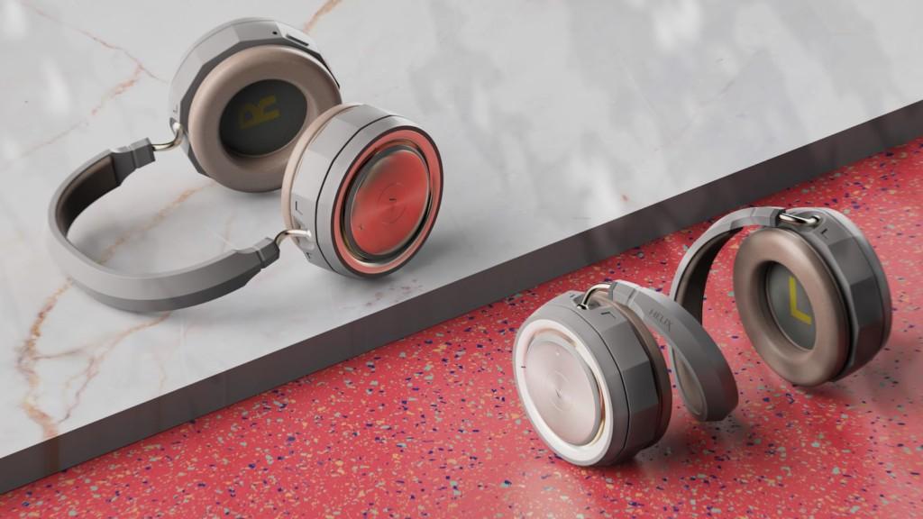 Junho Moon Helix multifunctional headphones