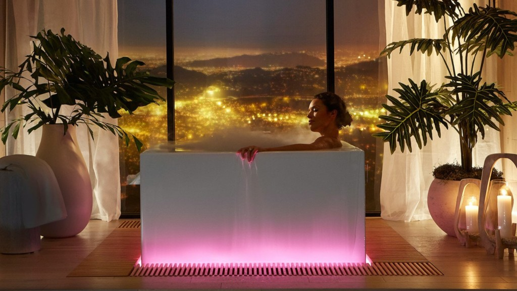 Kohler Stillness Bath smart bathtub