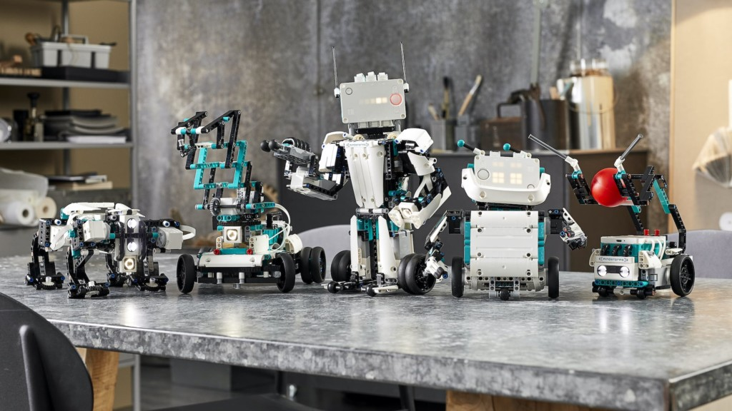 Smart Tech Toys that Support your Child's CreativityLEGO MINDSTORMS Robot Inventor coding kit