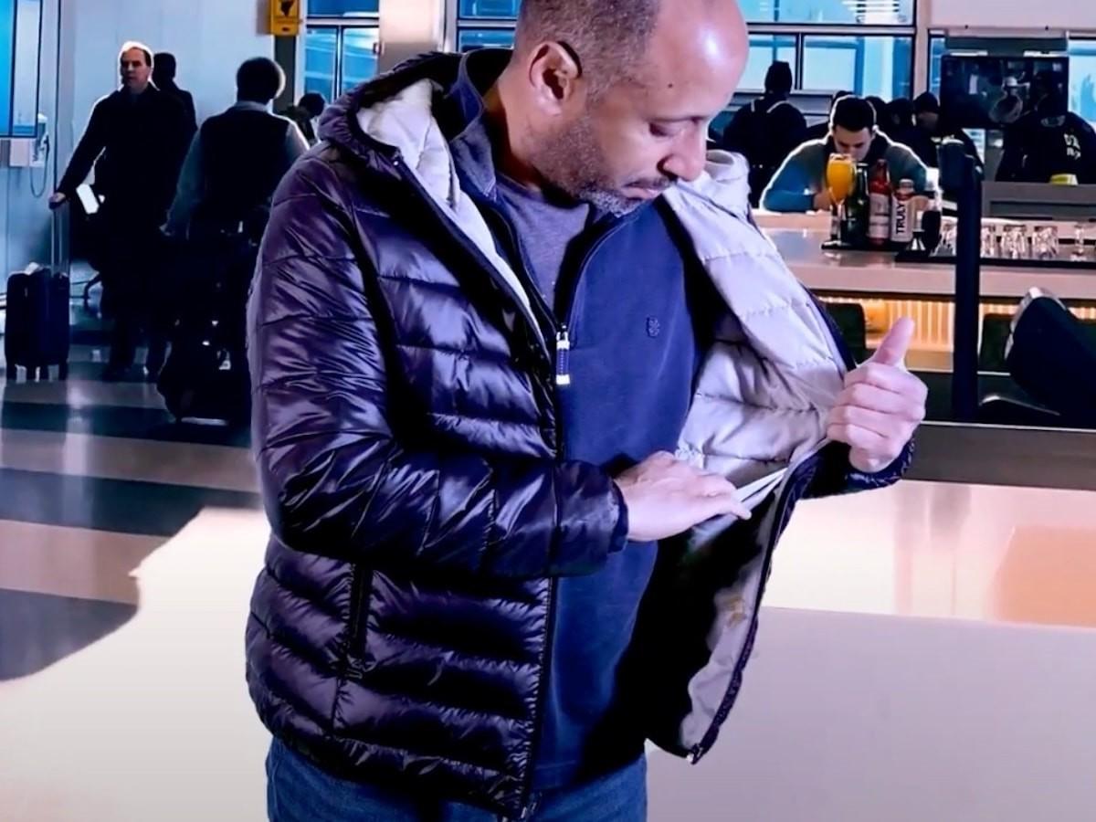 Leela Quantum Jacket antimicrobial coat also has antiviral and antifungal properties
