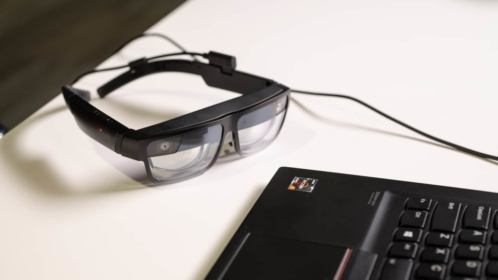 Lenovo ThinkReality A3 lightweight smart glasses