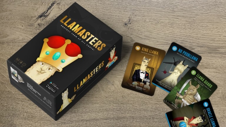 Llamasters AR party game takes gameplay to the next level with augmented reality