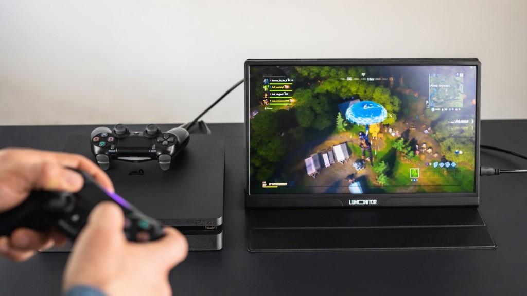 Lumonitor 4K touchscreen portable monitor