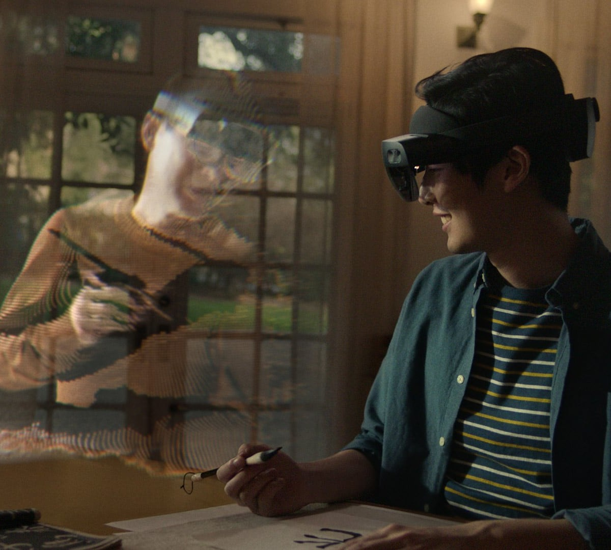 The VR future of Microsoft Teams meetings—meet Microsoft Mesh thumbnail