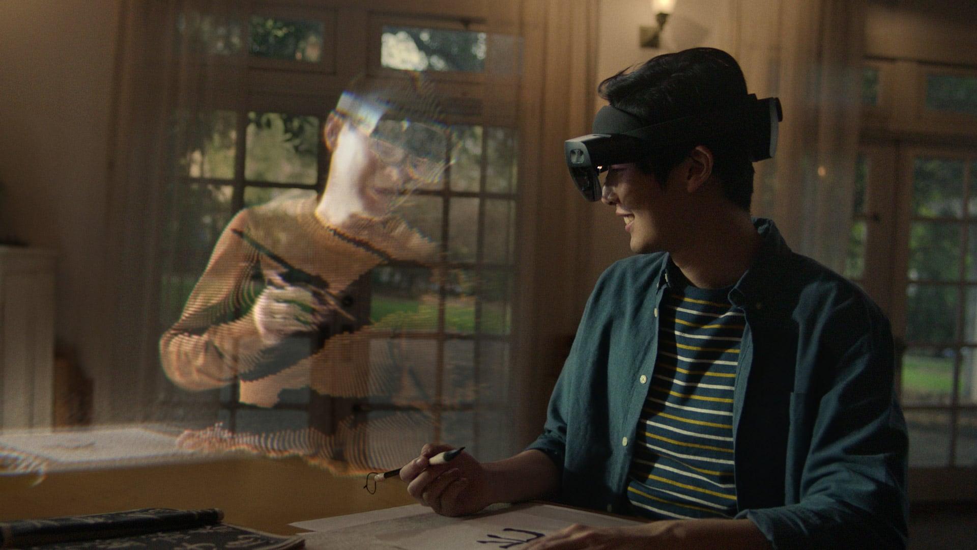 The VR future of Microsoft Teams meetings—meet Microsoft Mesh