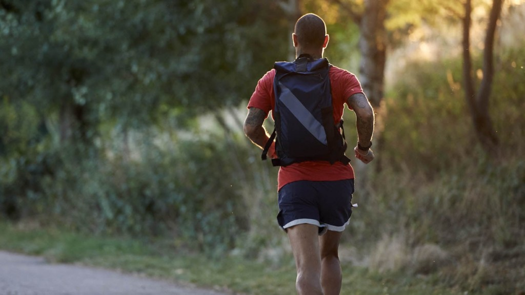 Mission x Tracksmith Run Commute Pack breathable backpack