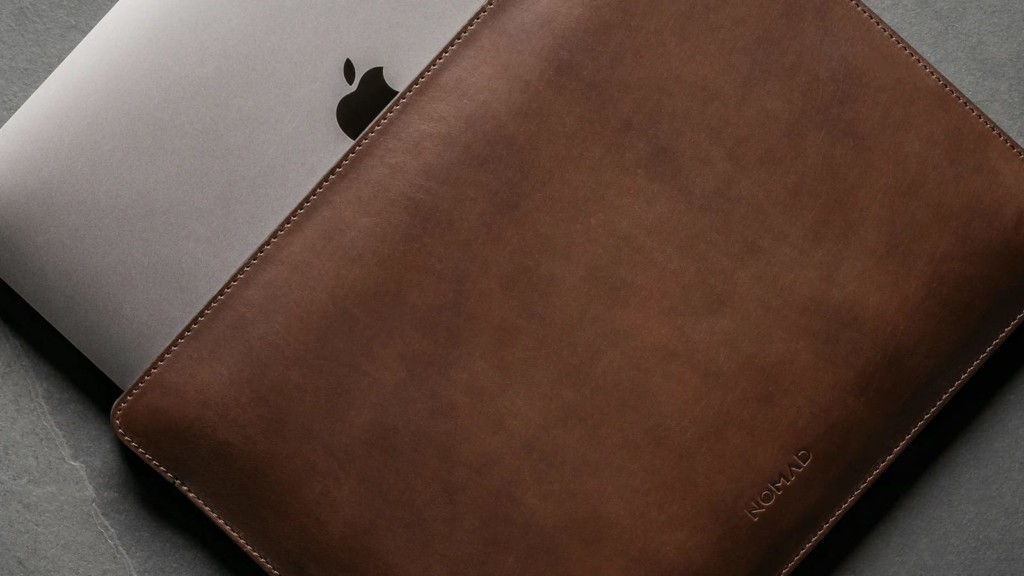 10 of the best MacBook Pro cases and covers Nomad Leather Sleeve MacBook Pro cover
