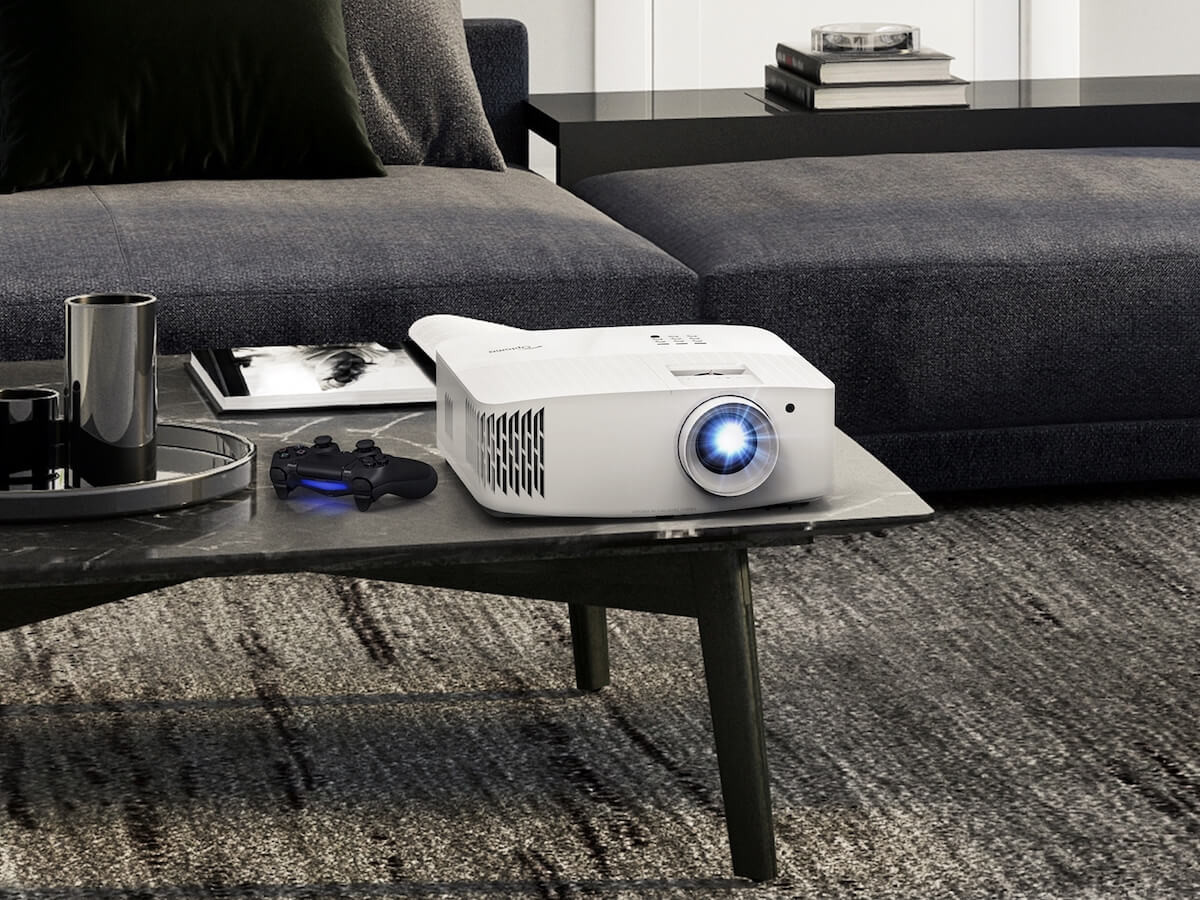 Optoma UHD38 4K UHD home projector gives you a 4,000-lumen home entertainment experience