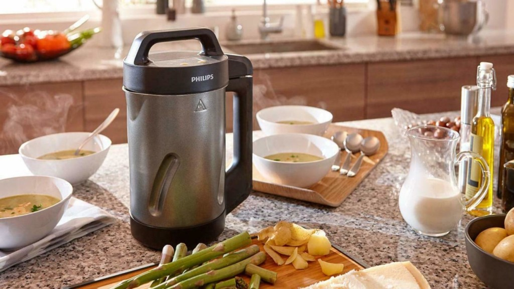 Time-saving gadgets for the kitchenPhilips Soup Maker Puréeing Machine