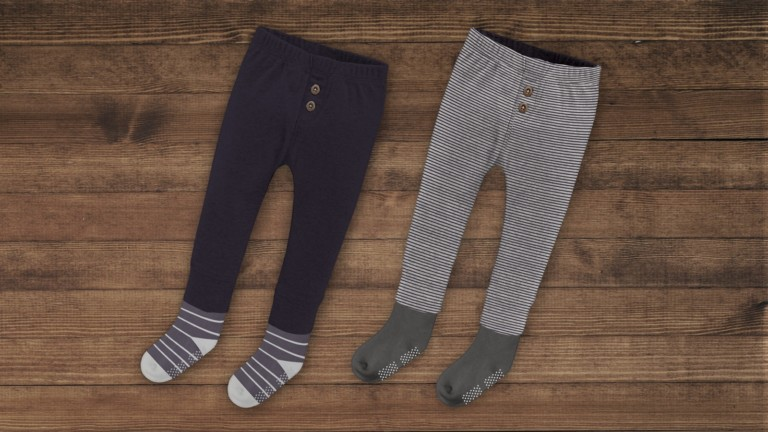Pippy Pants kids' clothing combines socks and pants in one