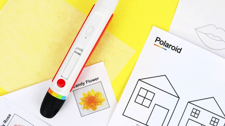 Polaroid CandyPlay 3D Pen creates sweet desserts with 6 flavors to choose from