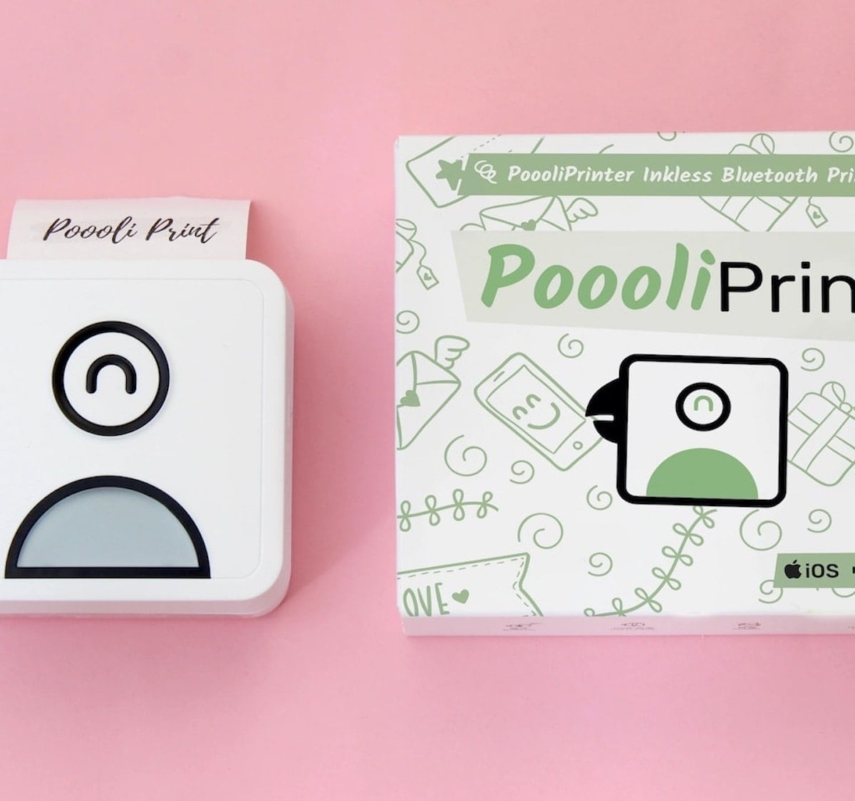 This cute inkless printer lets you print right from your phone thumbnail