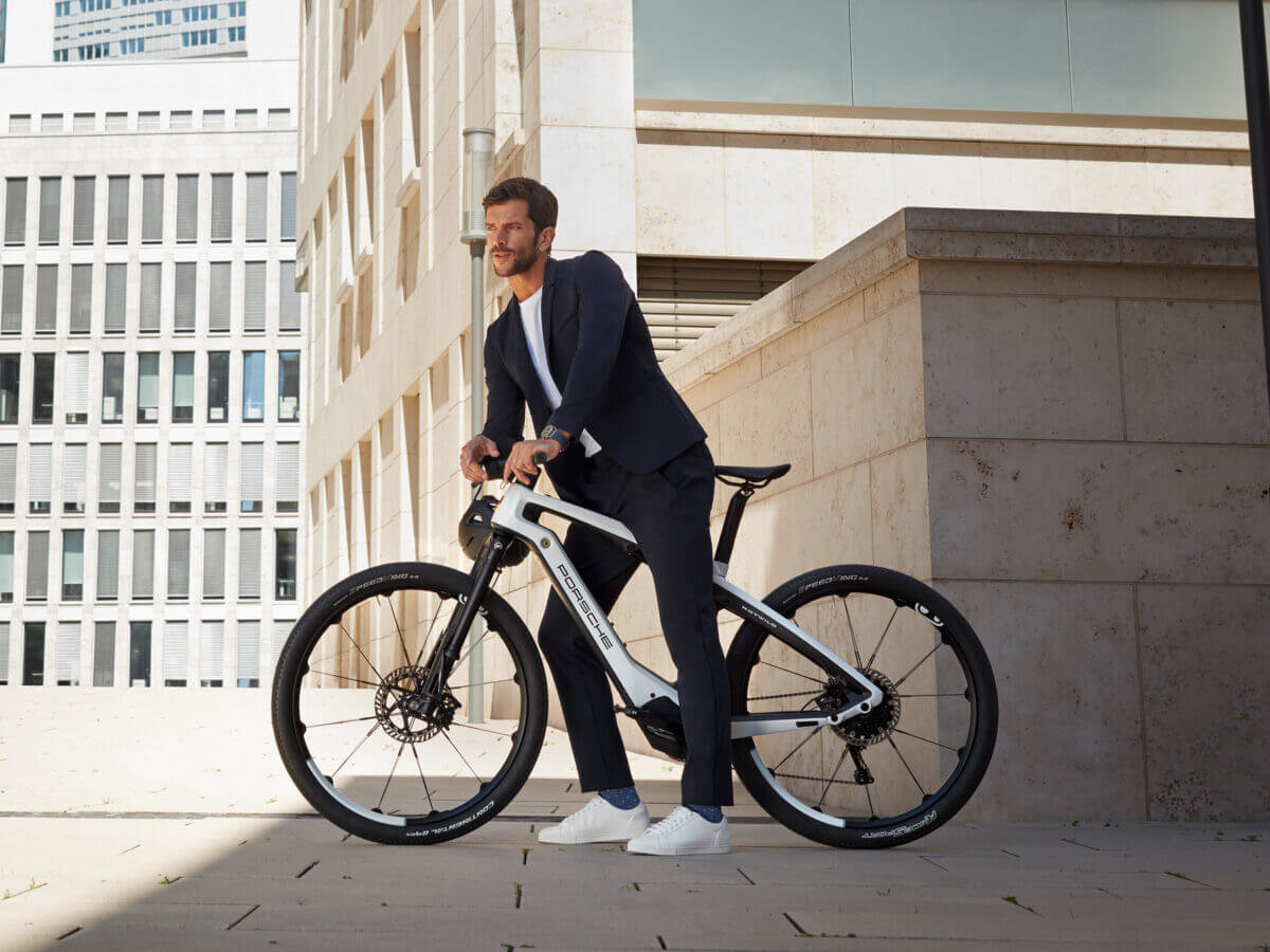 Porsche eBike Series is compatible with everyday use and off-road adventures