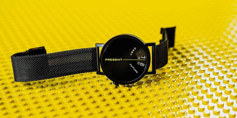 15 Coolest product designs that will make you go wow Projects Watches Past, Present, and Future Black 40 mm watch