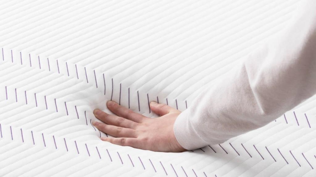 Purple Hybrid Premier plush mattress
