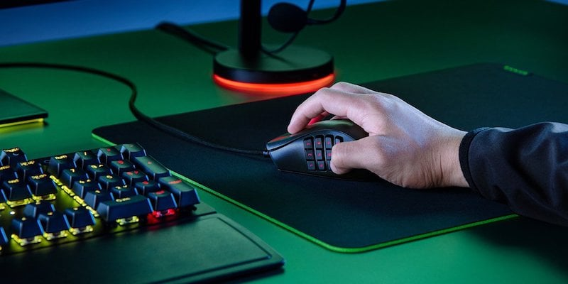 Razer Naga X ergonomic MMO gaming mouse