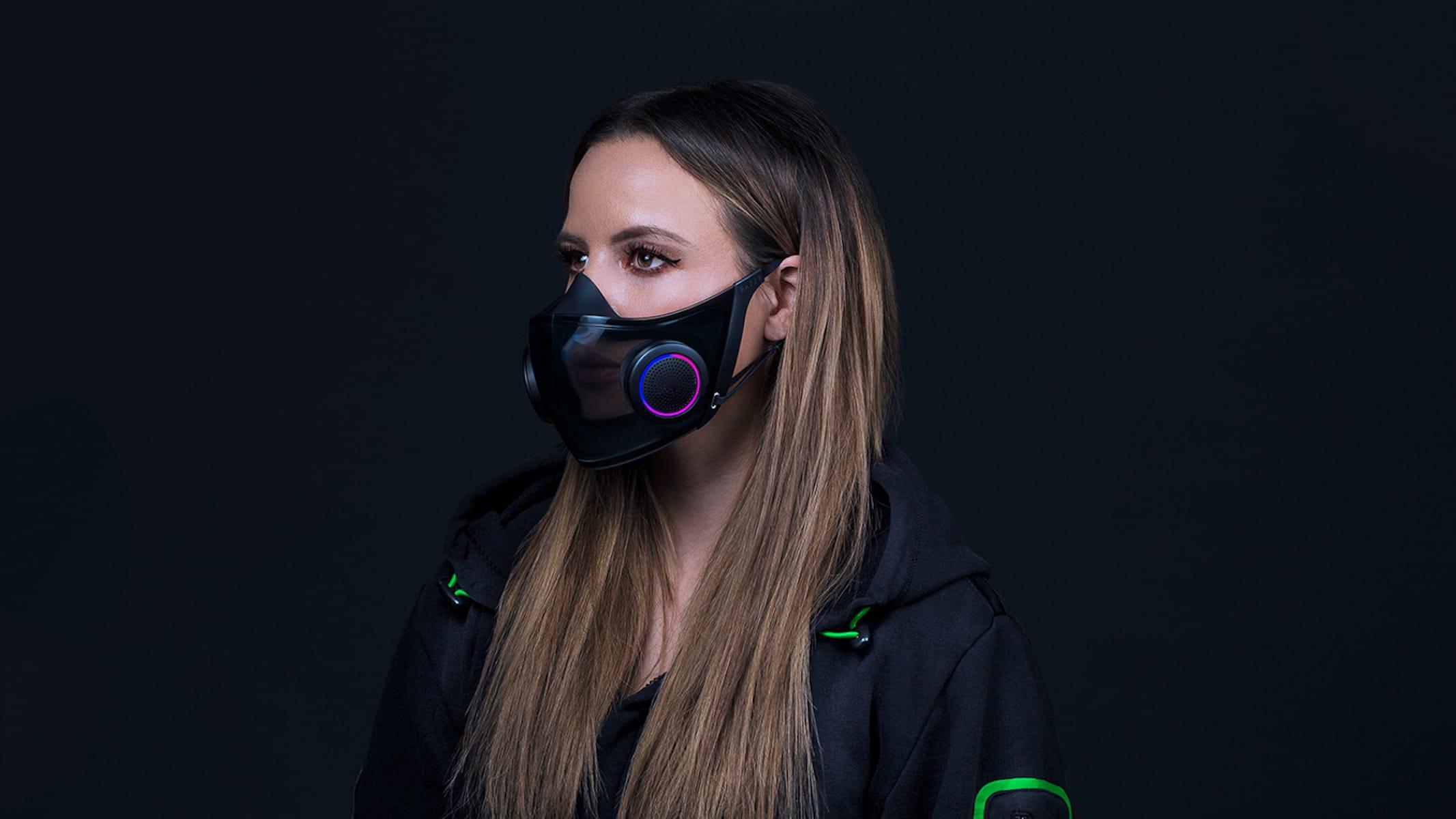 Razer Project Hazel mask design